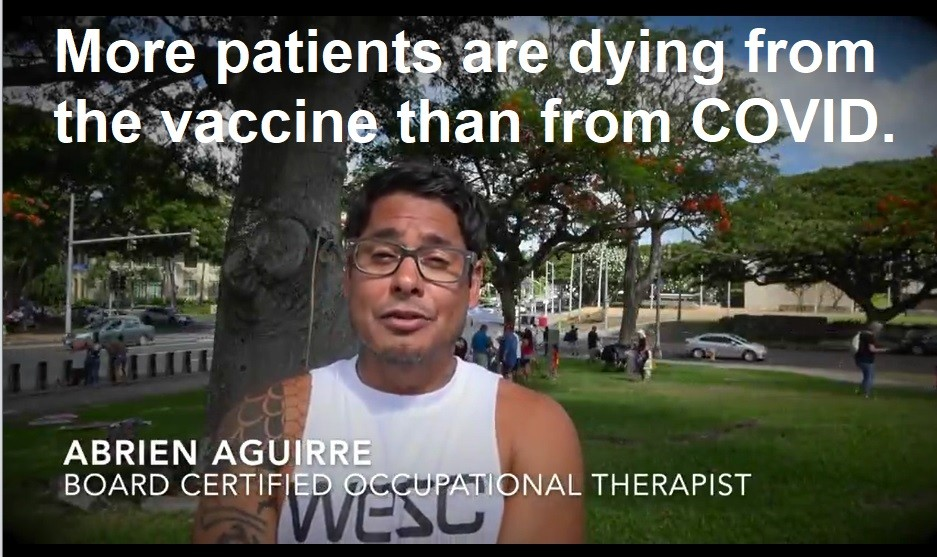 Board Certified Occupational Therapist Whistleblower: More Patients are Dying from the Vaccine than from COVID Abrien-Aguirre-whistleblower