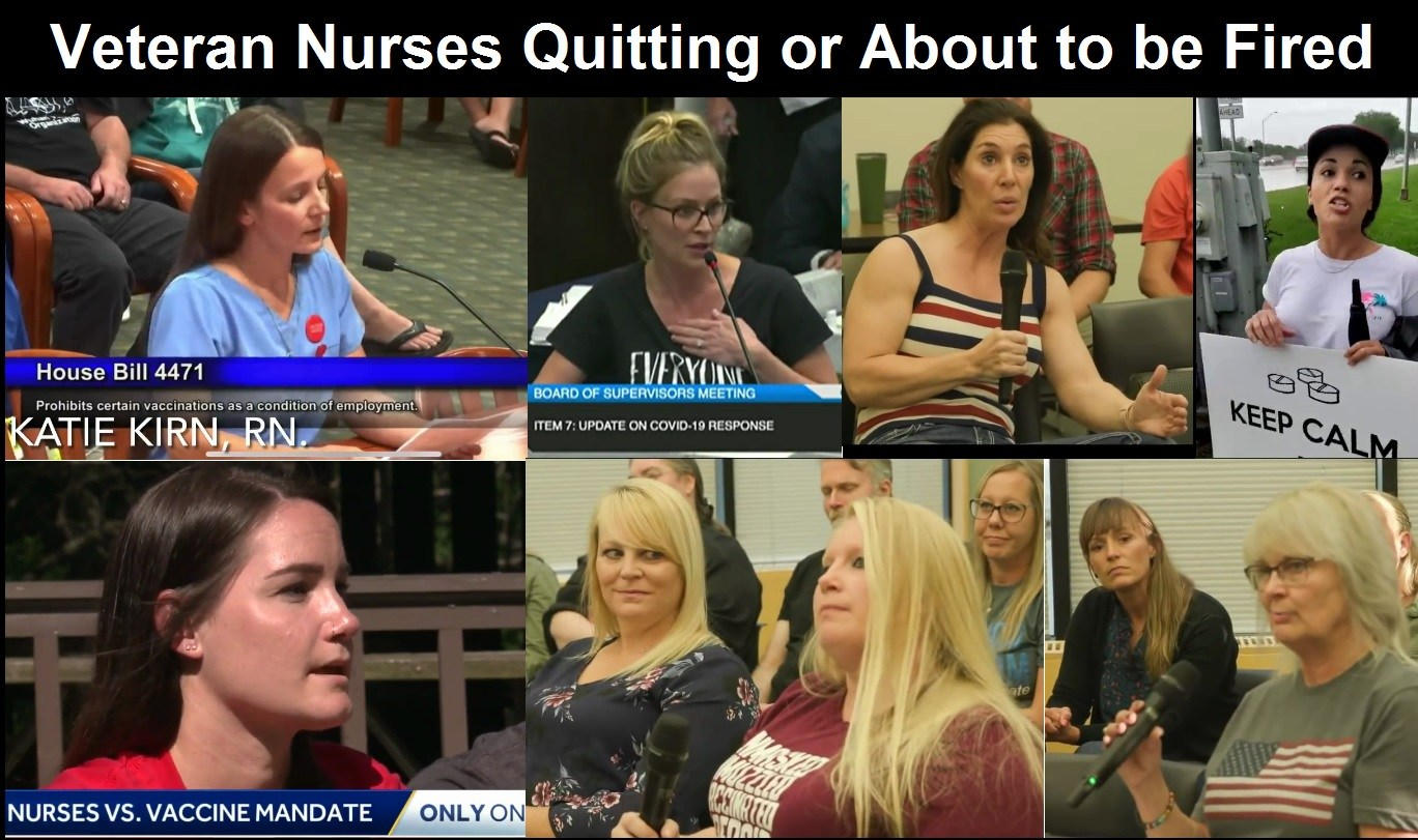 Crisis in America: Millions of Veteran Nurses are Resigning or Being Fired Over COVID Vaccine Mandates Veteran-nurses-about-to-quit-or-be-fired