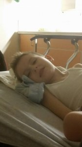 Jaxon In Hospital