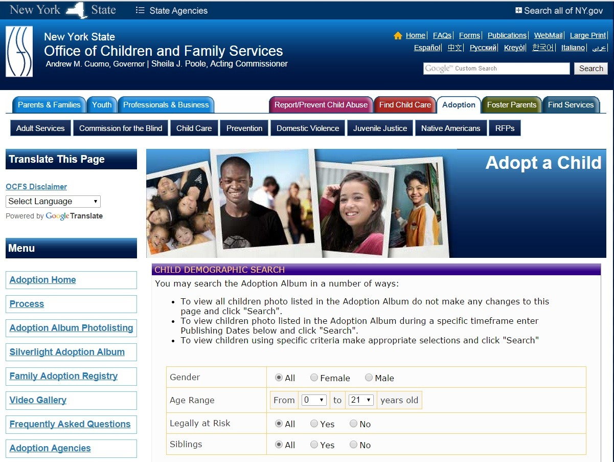 New-York-adoption-site