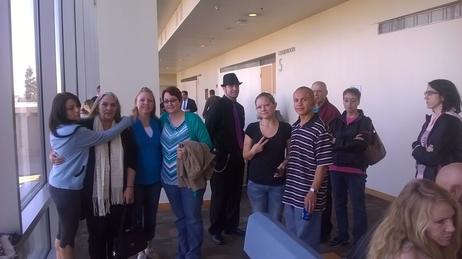 Group at Shoars hearing  Jan 16 2015