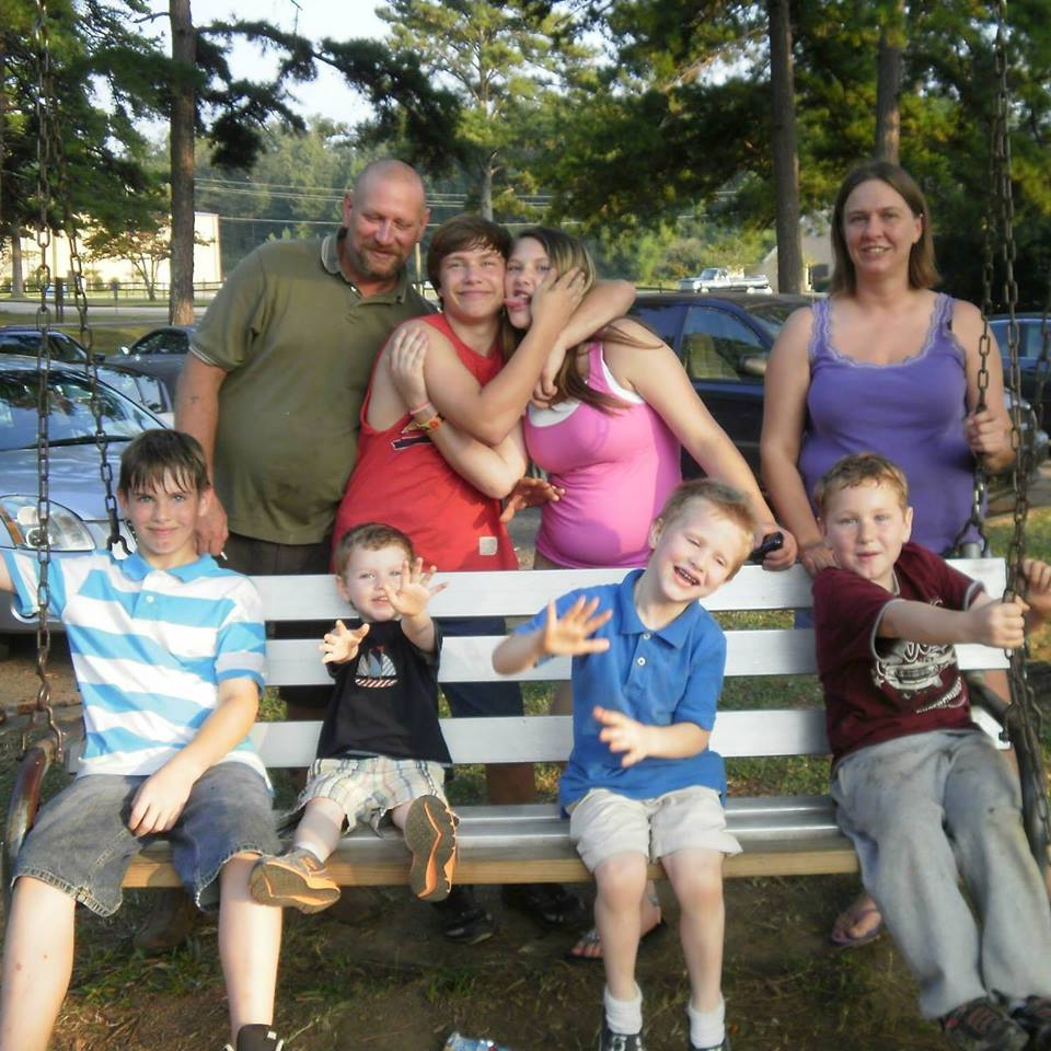 Cartee family before baby was born