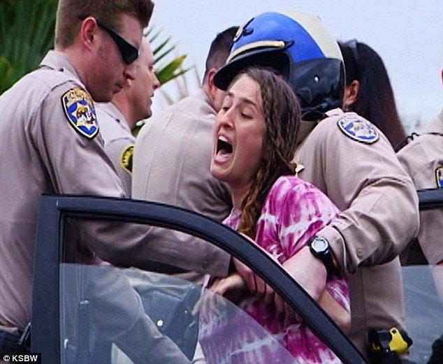 Erica arrested