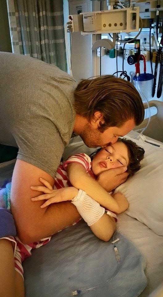 Kennedy-dad-hospital