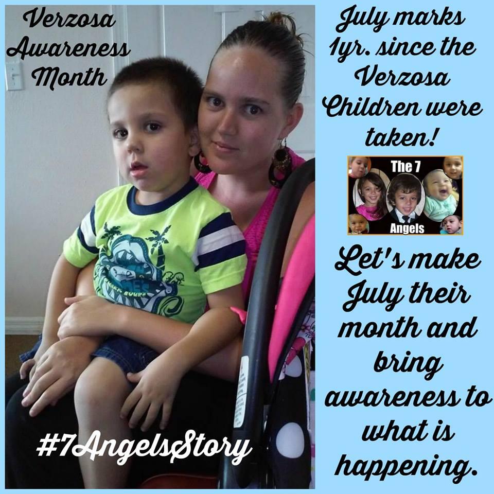 Verzosa July Verzosa Awareness month