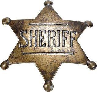 Sheriff Badge