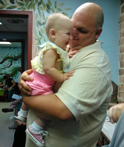 Makenzie and Daddy