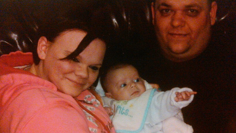 Makenzie with mom and dad