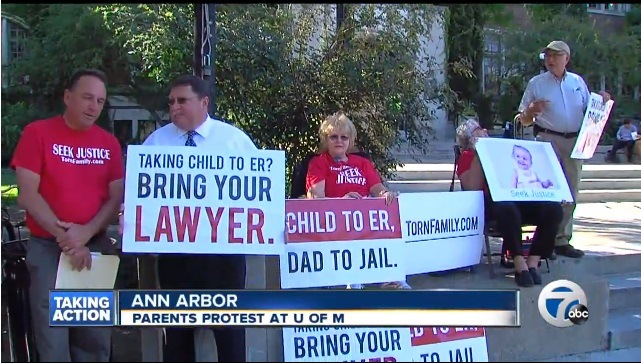 parents-protest-medical-kidnappings-michigan