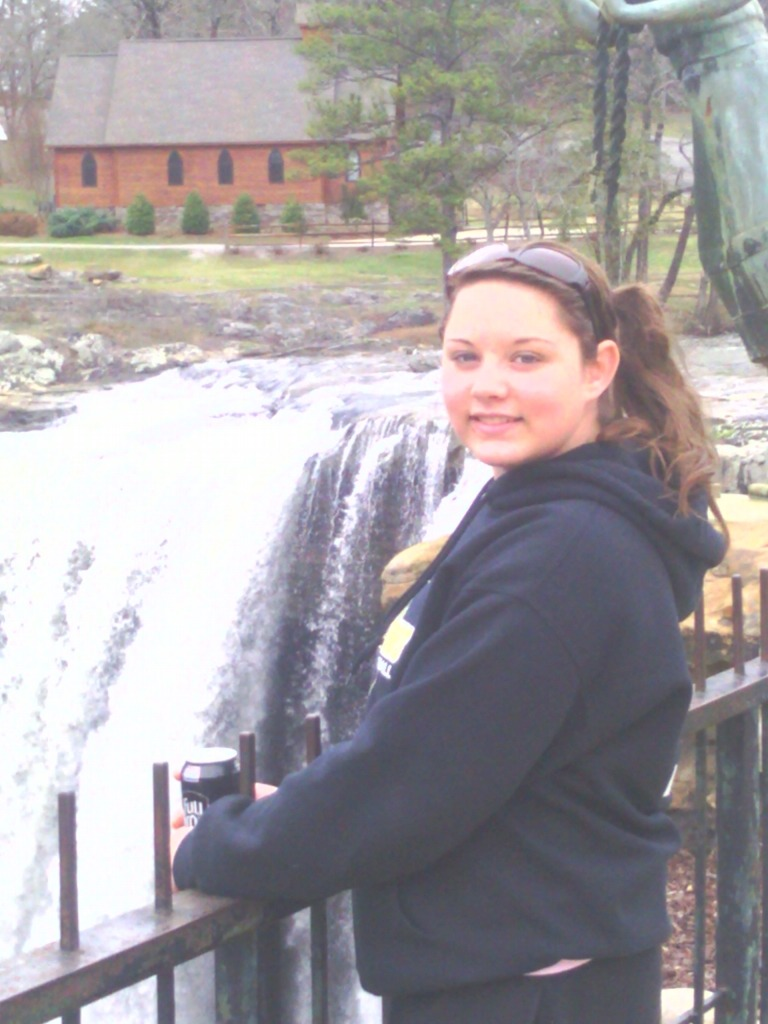 Makayla at falls