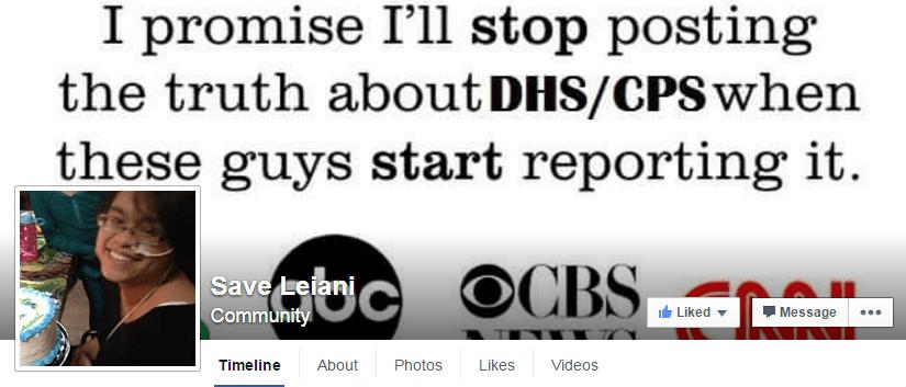 Leiani facebook