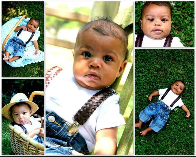 Marty baby collage