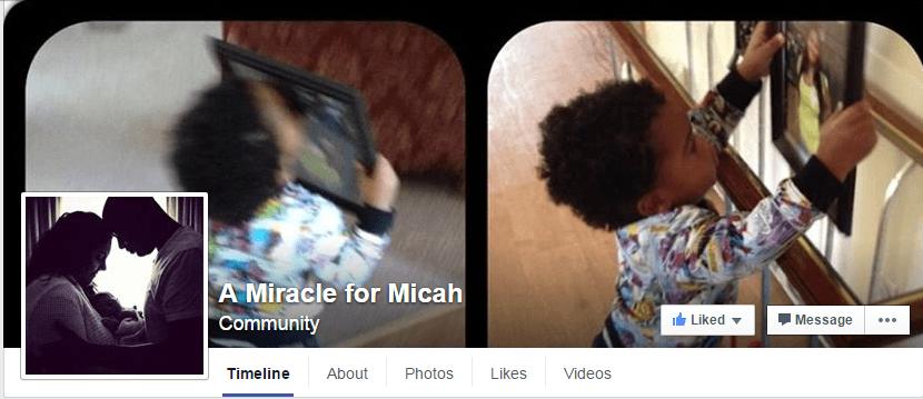 Micah FB page