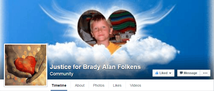 Brady Folkens FB page