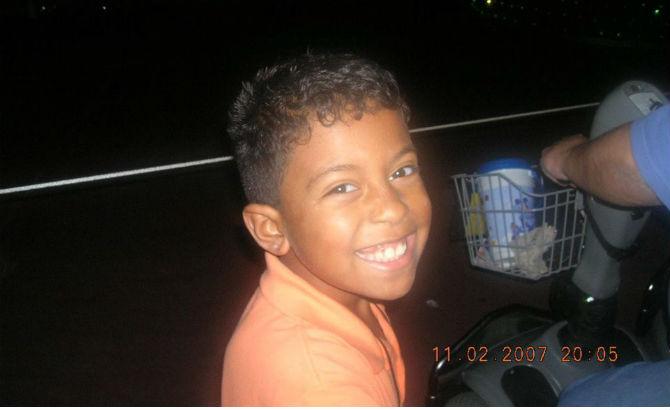 Isaiah Rider Little Boy