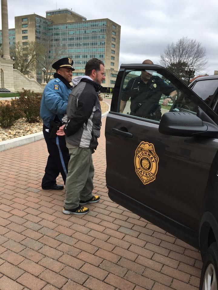 Schwab arrest