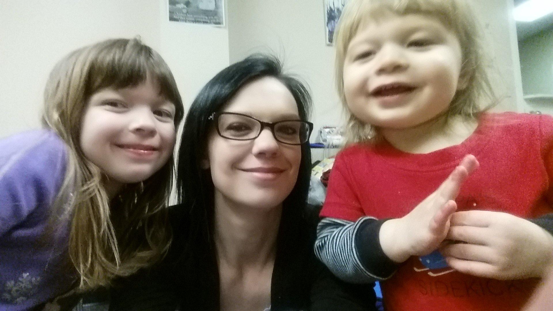 Holly & children