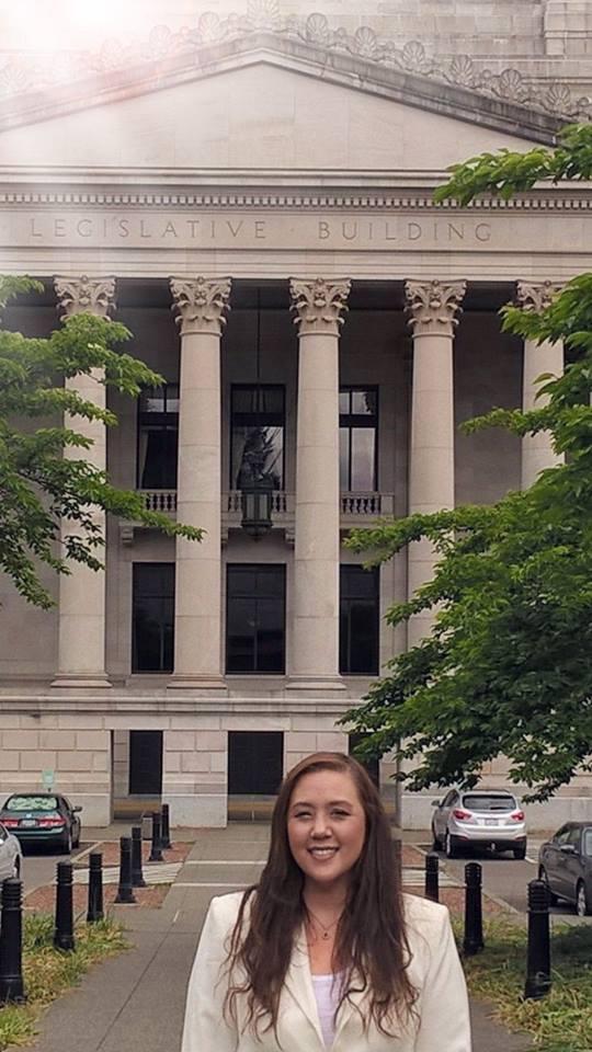 Anne Giroux legislative building