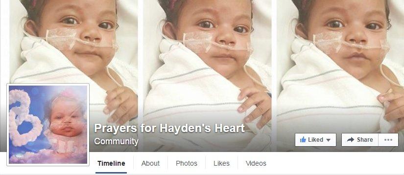 Hayden FB page