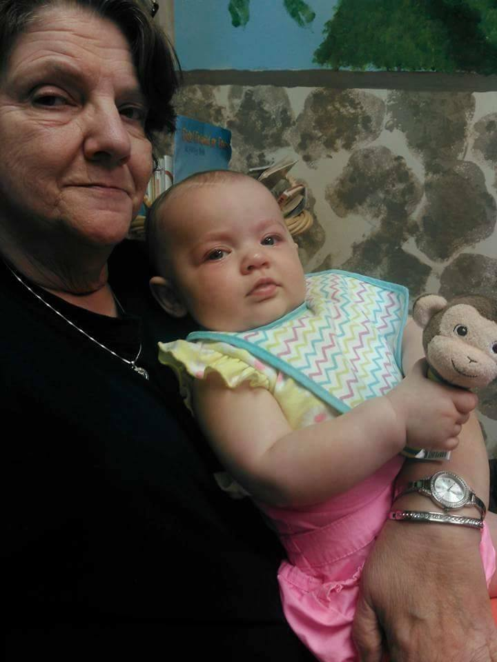 Walls baby with grandma