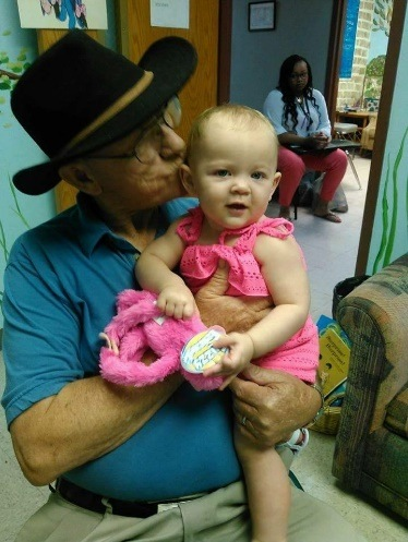 Walls baby with grandpa