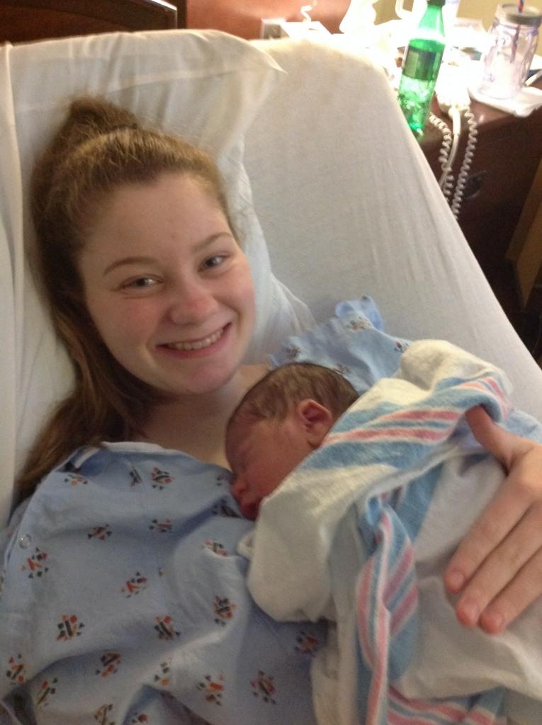 Prince happy with newborn