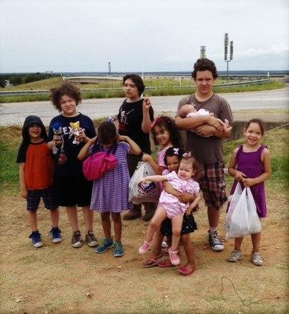 Rembis Children on their recent road trip to Colorado.