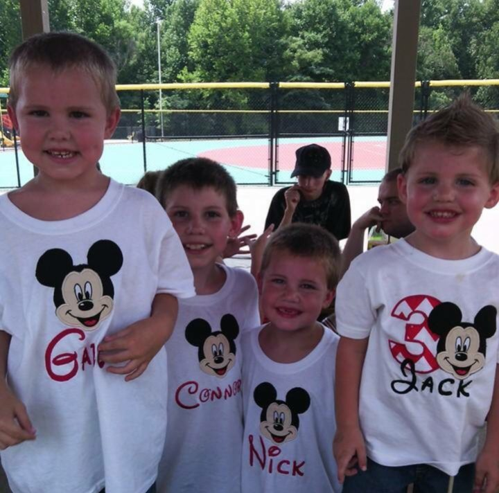 Headley kids Disney shirts