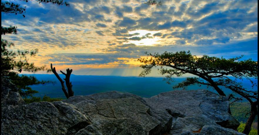 Cheaha Pulpit Rock