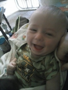 Gellinger baby May 2014