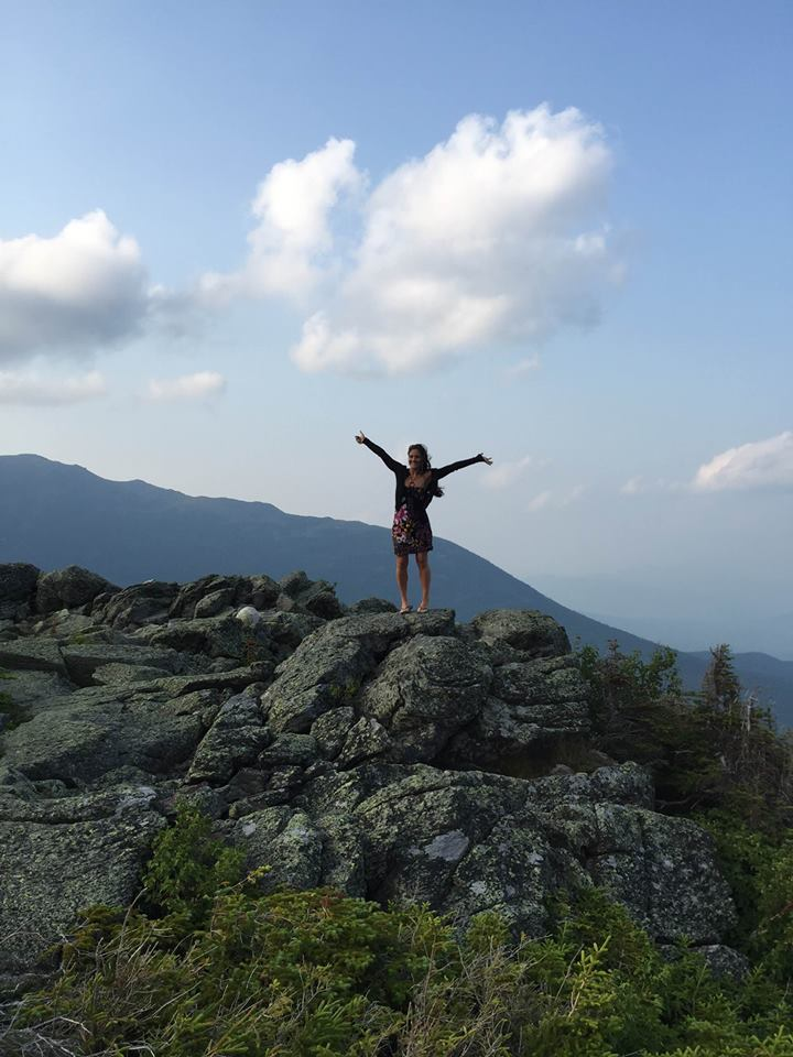 Holm Danielle on Mt Washington