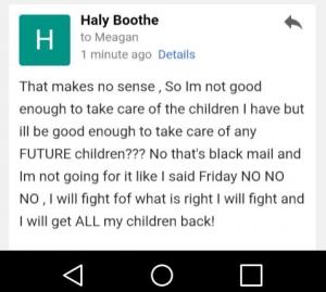 Haly response