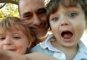 Michael Brooks and boys adorable