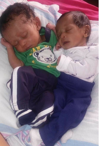 Tamika youngest twins