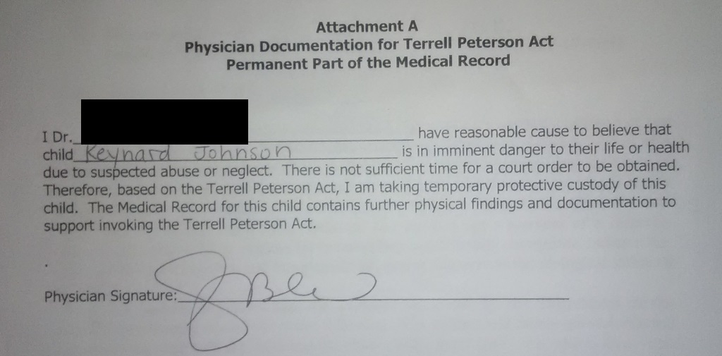 Durenda-Terrell Peterson Act doc