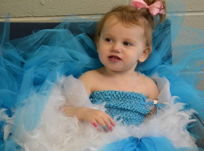Hailey pageant looks like dad