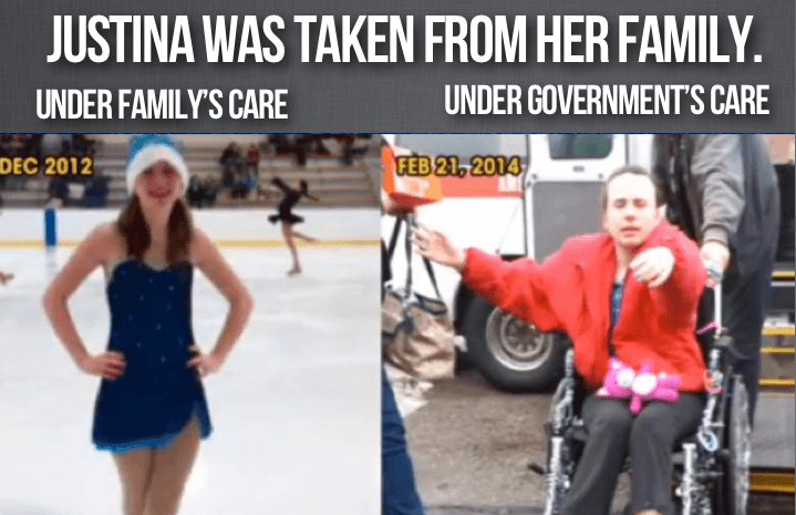 Justina Pelletier before and after