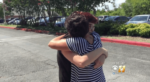 Texas teen reunited with family