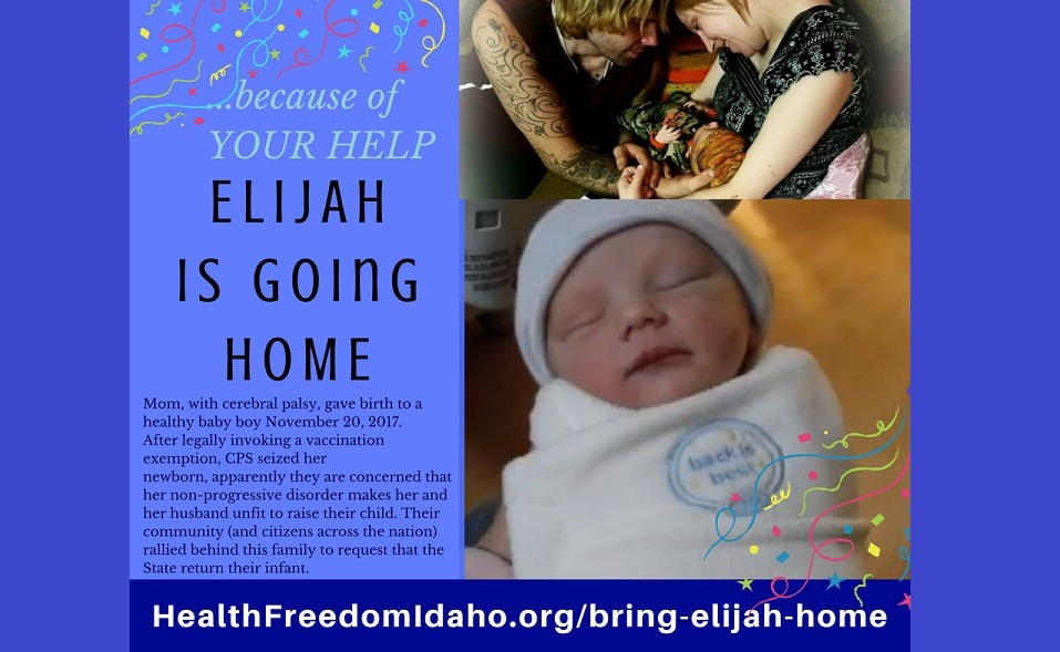 Elijah is going home FB