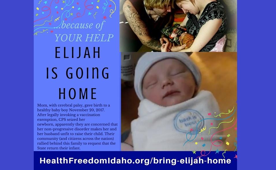 Elijah is going home FB