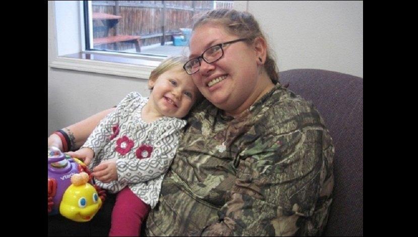 Kitrina and Kaylynn at a recent DHS visit FB