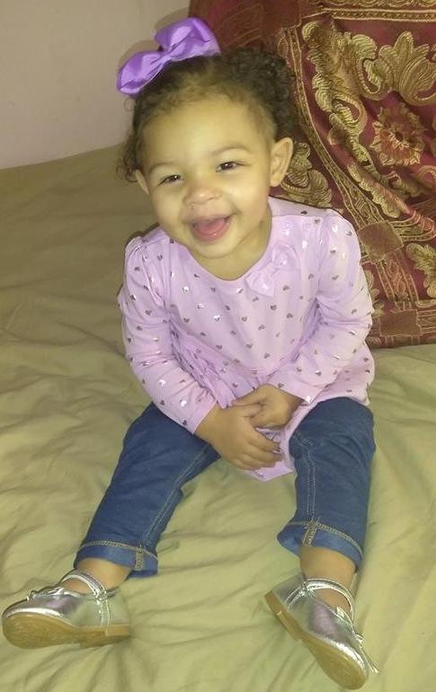 Avyonna happy at home