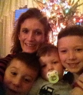 Whitney Tara with boys