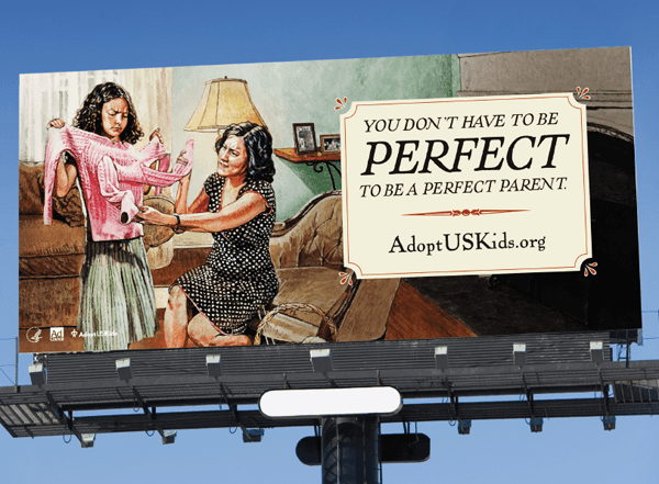 ad council foster parents dont have to be perfect
