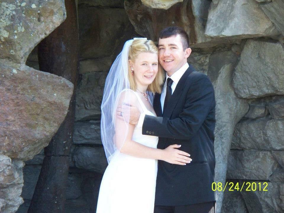 Edward and Ashley Wedding Day
