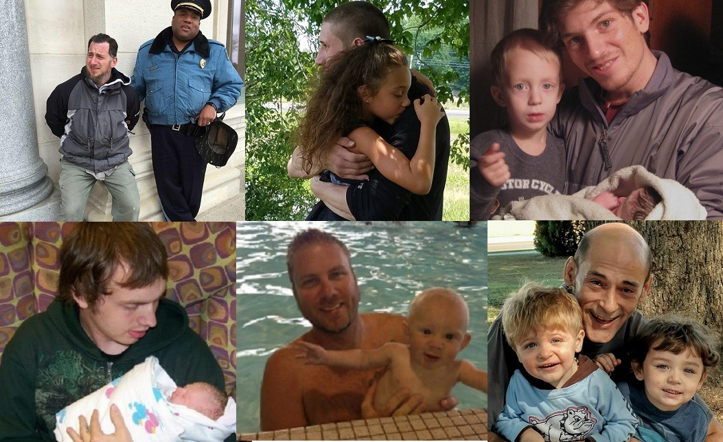 Fathers collage