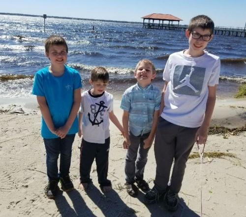 Headley boys beach all 4