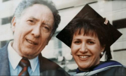 Lisa Belanger and father