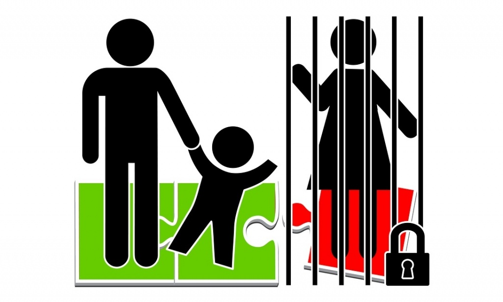 Mothers in Prison. Imprisonment of one parent entails the forcible separation of a child, who is suffering badly