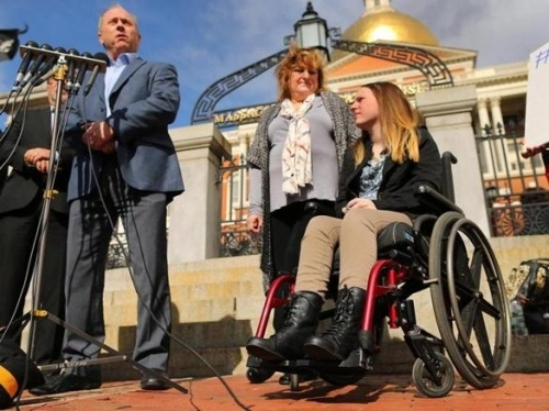 Justina Pelletier and parents Boston Globe